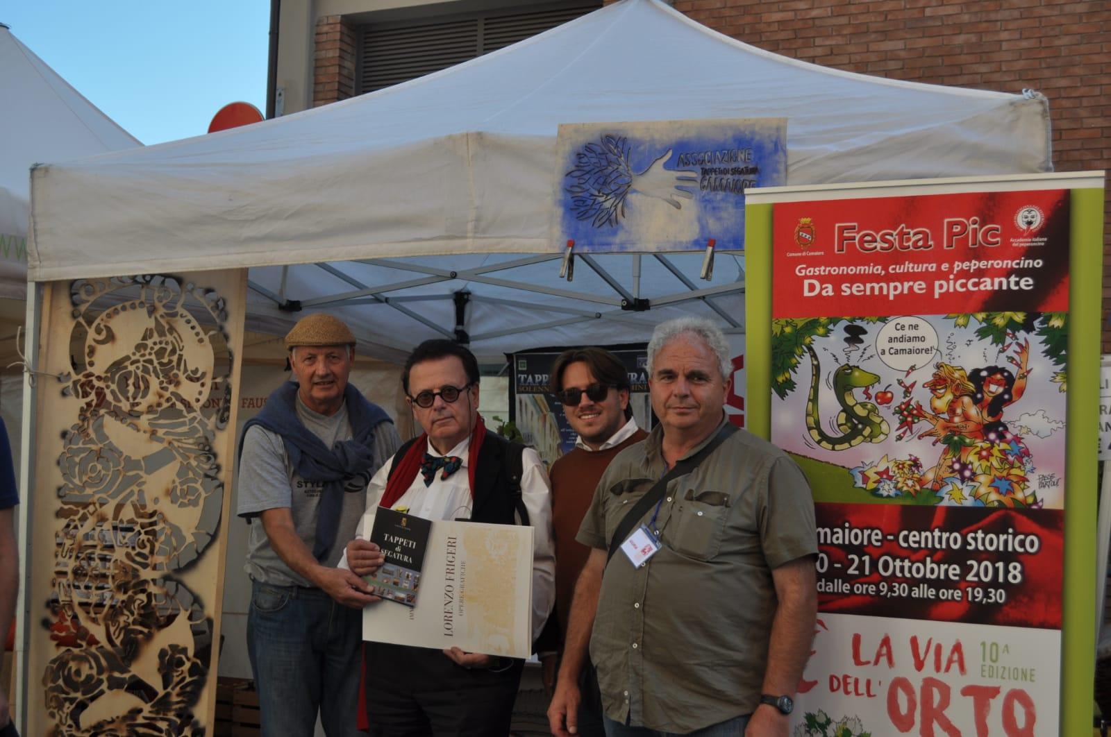 """Il Comune di Camaiore a Guastalla per promuovere """"E' la via dell'Orto"""""""