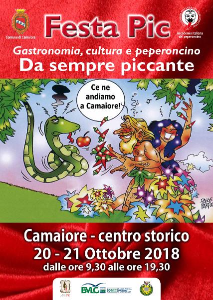 Festa Pic 2018: Il 20 e 21 ottobre Camaiore capitale del peperoncino