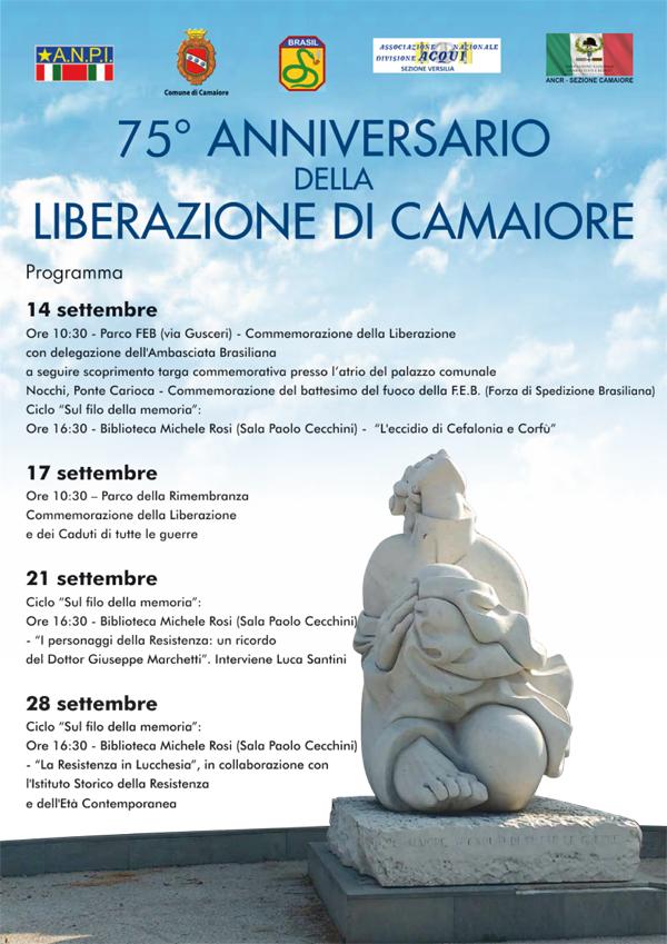 75° anniversario della Liberazione di Camaiore