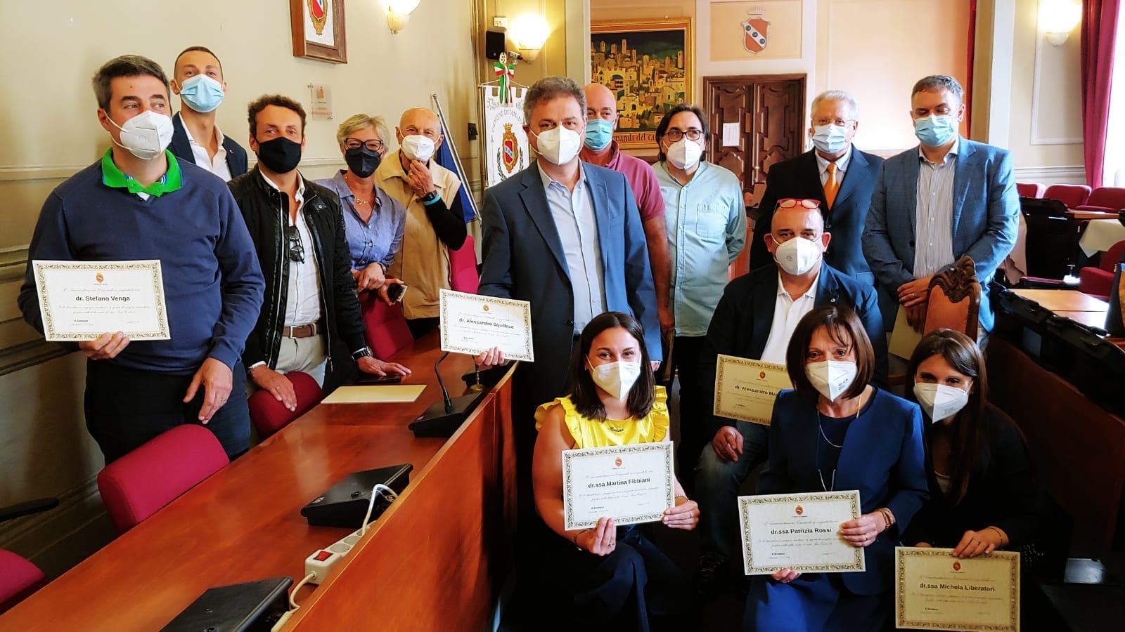 Omaggio ai medici di famiglia impegnati contro il Covid-19