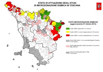 Indagini di campagna sul territorio comunale per redazione di studi di microzonazione sismica