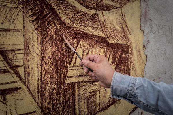 Torna l'appuntamento con gli sgraffiti a Casoli l'11, 12 e 13 settembre