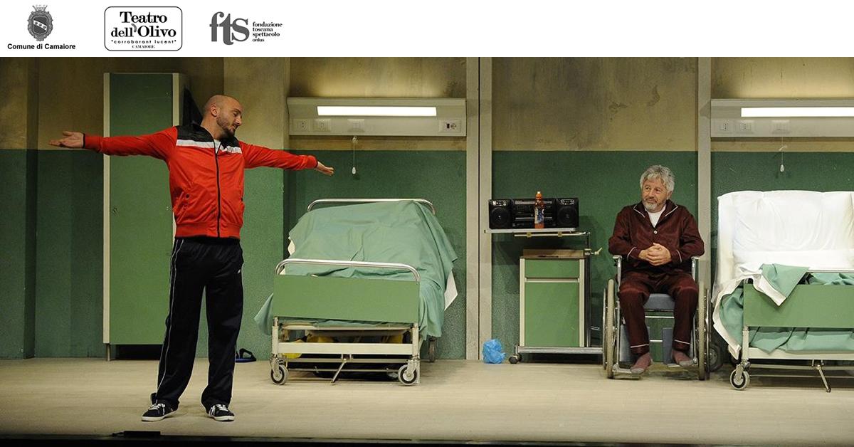 Nicolas Vaporidis in L'operazione al Teatro dell'Olivo il 14 febbraio
