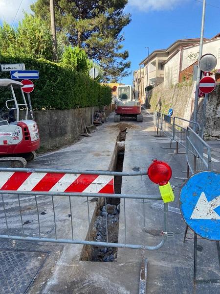 Dal 13/07 cambia l'ordinanza di chiusura di via Terrapezzina per lavori